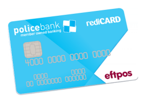 The Police Bank Redi Card
