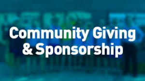 Community Giving and Sponsorship