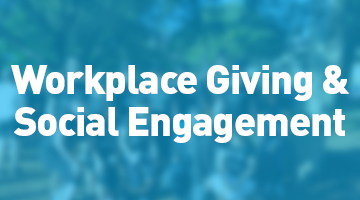Workplace Giving and Social Engagement